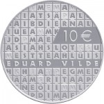 Estonia Honors Author Eduard Vilde on 10 Euro Silver Coin