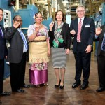 Royal Australian Mint Holds First Strike Ceremony for Three South Pacific Island Neighbors