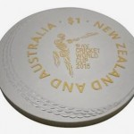 Final New Zealand 2015 ICC Cricket World Cup Coin Auctioned for Victims of Hurricane Pam