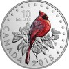 Northern Cardinal Silver Coin