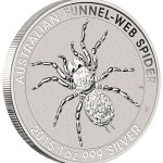 Perth Mint Launches Australian Funnel-Web Spider Silver Bullion Coins