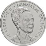 Denmark Latest Crown Coin Celebrates 75th Birthday of Queen Margrethe II