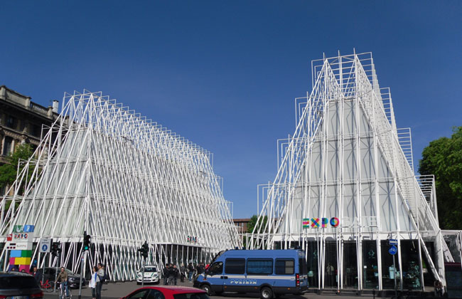 EXPO Gateway ticketing and retail centre in the center of Milan