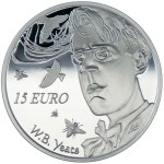 William B. Yeats 150th Anniversary of Birth Celebrated on New Silver Coin