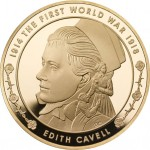 UK-2015-WWI-cavell-gold
