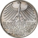 The True Draft of the First Commemorative Coin of the Federal Republic of Germany