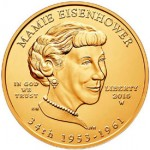 US Mint Sales Report: Mamie Eisenhower First Spouse Gold Coins Debut