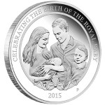 Perth Mint Gold and Silver Coins Honor HRH Princess Charlotte
