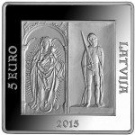 Riga Castle Celebrates 500  Years with New Silver Square Coin