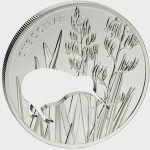 New Zealand Kiwi Silhouette Silver Proof Coin