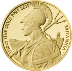 UK 2015 britannia 40th ounce gold b