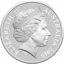 australia 2015 $5 Silver Lighthouse OBV