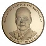 monaco 2015 €100 accession anniv. a