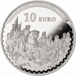 spain 10 Euro Madrazo - reverse