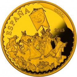 spain 400 Euro Goya obverse