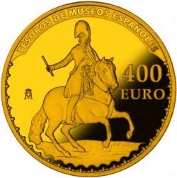 spain 400 Euro Goya reverse