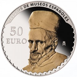 spain 50 Euro  reverse Velazquez