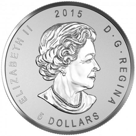 Canada 2015 ANA chicago $5 a
