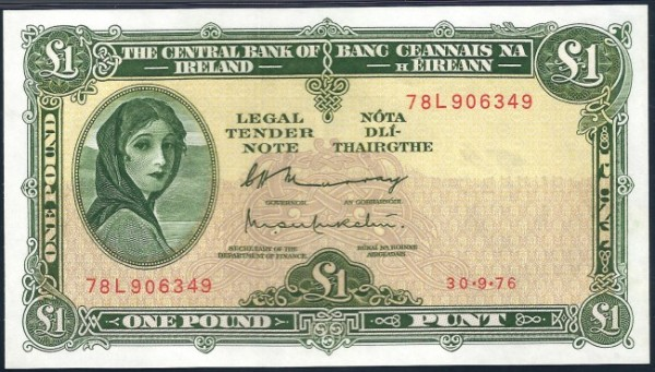 The Irish Lady Lavery Banknotes Of 1928 1977 Coin Update
