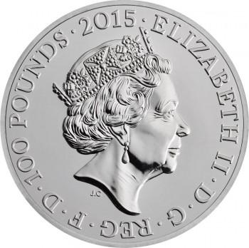 UK 2015 £100 buckingham a