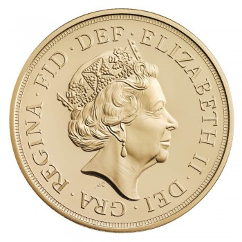 UK 2015 £5 gold a