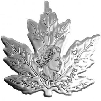 canada 2015 $20 maple leaf shape a