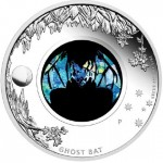 "Perth Mint Releases ""Ghost Bat"" Silver Proof Coin with Opal"