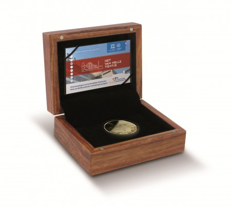 netherlands 2015 van nelle unesco €10 cased