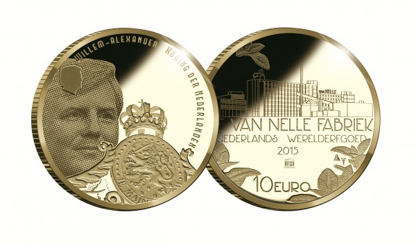 netherlands 2015 van nelle unesco €10 pair