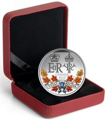 Canada 2015 longest reign silver c
