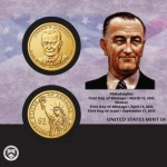 U.S. Mint Sales Report: JFK Coin & Chronicles and LBJ Coin Cover Launch