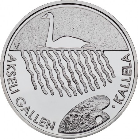 Finland 2015 €20 akseli gallen kallela a