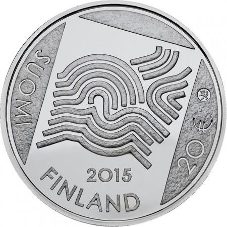 Finland 2015 €20 akseli gallen kallela b