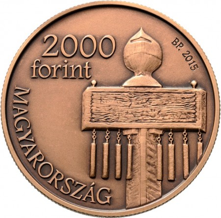 Hungary 2015 200 forint Mohacs a