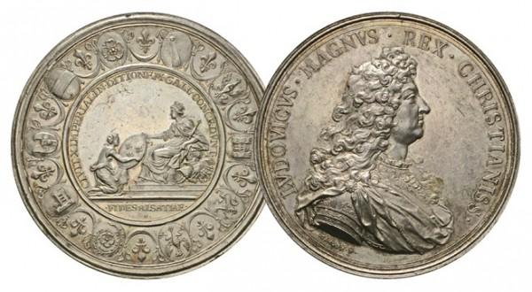 Monaco exhibition medal pair