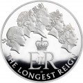 UK 2015 £500 longest reign b