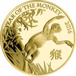 UK's Royal Mint Launches Lunar Year of the Monkey Zodiac Coins