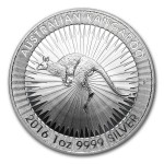 First Australian Kangaroo Silver Bullion Coin Now Available