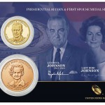 U.S. Mint Release: LBJ Presidential $1 Coin & First Spouse Medal Set