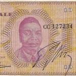 A Moïse Tshombe Autographed Note