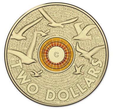 australia 2015 $2 remembrance colour b