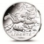 "French ""Values of the Republic"" Coin Series features Comic Book Hero Asterix"