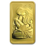 Perth Mint Presses Gold Bars with Oriana Design