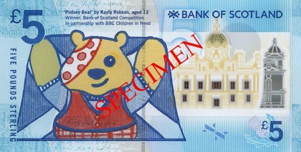 scotland 2015 £5 pudsey b