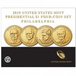 2015 Presidential $1 Four-Coin Set Now Available