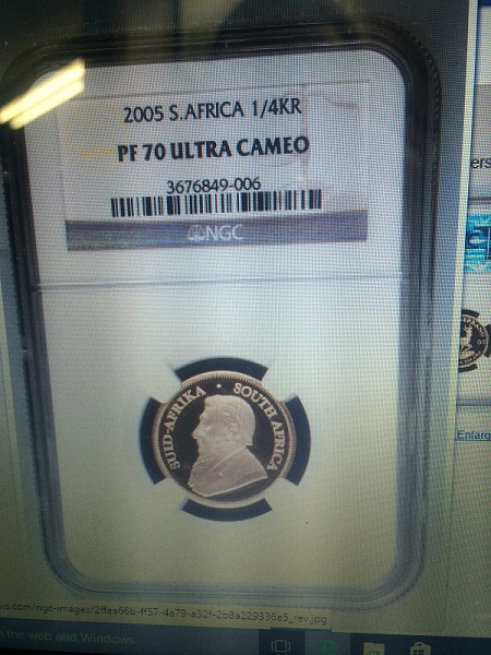 Fake 2005 KrugerrandSMall