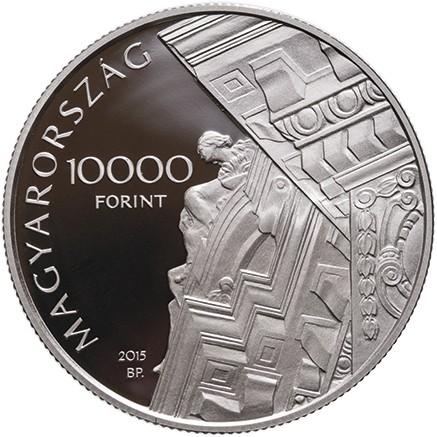 Hungary 2015 10,000 miksa roth b