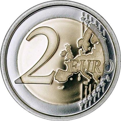 Italy 2015 €2 EURO FLAG bSMALL
