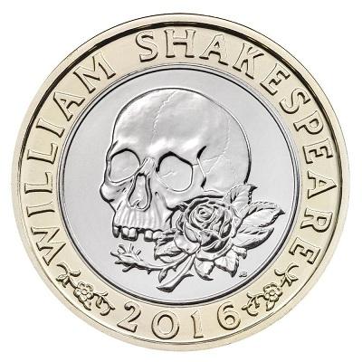 UK 2016 £2 Shakespeare b tragedySmall