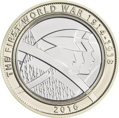 UK 2016 £2 WWI bSmall